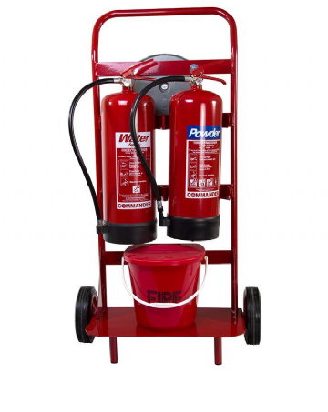 Extinguisher Trolley Double